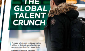 « The Global Talent Crunch » ou la nécessité d'investir dans la formation professionnelle, une étude du cabinet de recrutement Korn Ferry :