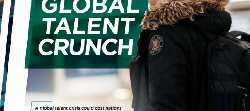 « The Global Talent Crunch » ou la nécessité d'investir dans la formation professionnelle, une étude du cabinet de recrutement Korn Ferry :