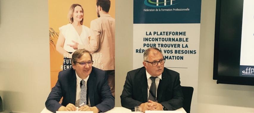 Signature d'un partenariat entre la FFP et l'Apec